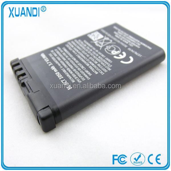 1050mAh Original cell phone battery BL-5CT for Nokia 5220XM 6303C 6730C C5-00 C6-01 C3-01