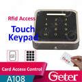 touch keypad Rfid Access Control Device JTL A108