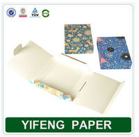 Alibaba express custom logo special paper packaging box without glue