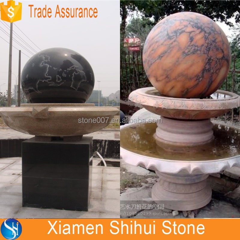 Outdoor Marble Water Fountain