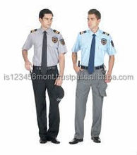 SECURITY SHIRT WITH EPAULETTES SHORT SLEEVED