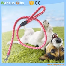 custom Braided rope dog leash made in China