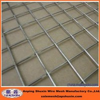 Low-Carbon Iron Wire Material and Square Hole Shape galvanized welded wire mesh panel