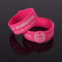 Cheap Custom Imprinted silicone wristbands/promotation Silk Screen Silicone bracelets