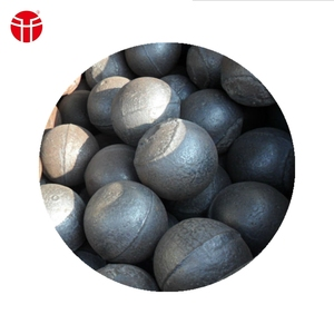 low brekage rate 100mm cast steel ball for ming