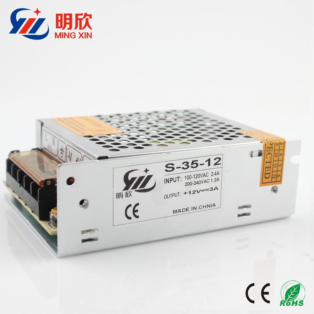 cool quality led driver 12v 3a 36w 110v ac dc 12v power supply c-36-12