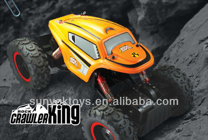 Rock crawler king! 1:12 Scale 4WD off-road crawler rc car