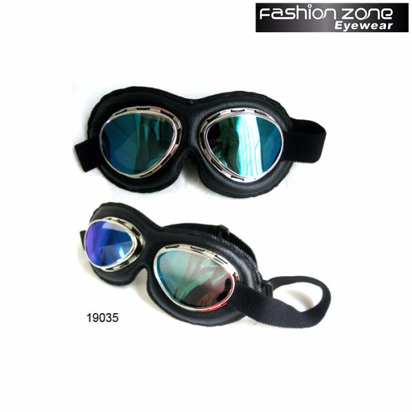 Vintage Motocross Outdo Racing Steampunk Goggles