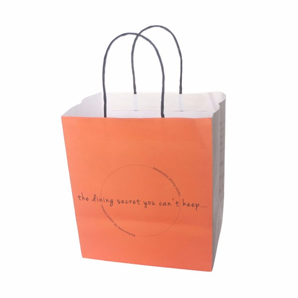 customized Green paper bag kraft paper bag