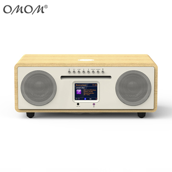 2018 OMOM--2.1 multimedia speaker , Built in Internet Radio / CD / USB / BT/ DAB+ WALN OM-1717