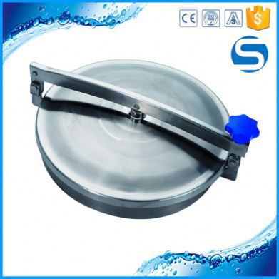 pipe fitting polished sanitary ss304 pressure sight glass manhole covers manway