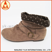 High quality cheap dull polish canadian winter snow boot