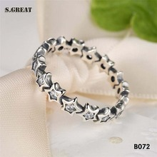 new model silver 925 fit pandora jewelry rings fashion wedding rings factory direct sale