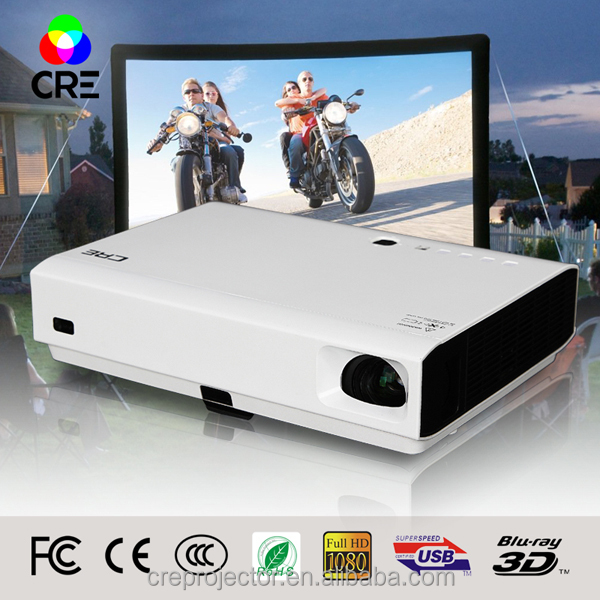 CRE X2500 wifi andriod mini hottest led mirroring system projector dlp laser manufacturer