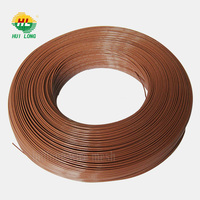 12 gauge black /galvanized pvc wire /pvc coated wire for hanger
