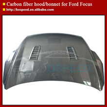 Carbon Fiber Car Parts Hood Vents for Ford Focus Cars 2009-2011
