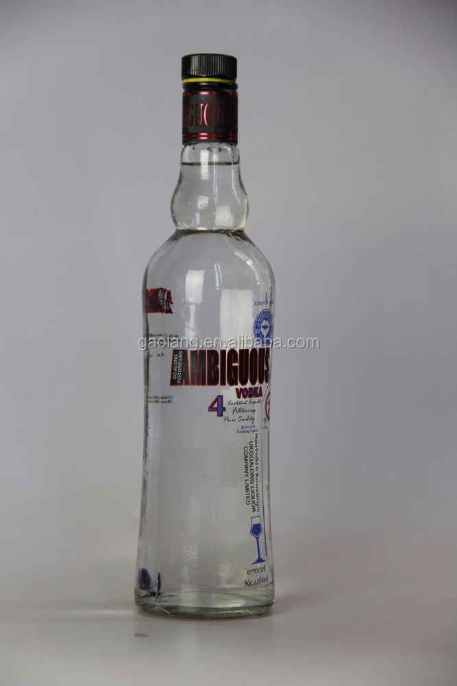UK Goalong factory supply best vodka with good price international vodka distiller