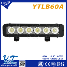 News Auto led light bar 36w 72w 144w 180w 252w 10-32V 1 year warranty IP67 led bar light for off road bar led Lights