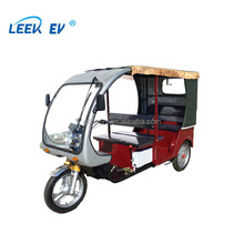Electric Rickshaw For Passengers Borac Bangladesh