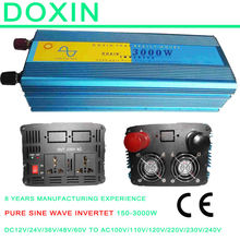 3KW Off-grid Inverter 12V 24V-110V 220V, DC AC Inverter Pure Sine Wave 3000w for Solar Panel
