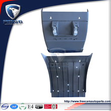 After market truck parts for Iveco,plastic mudguard with inner bracket,front side rear mudguard