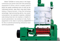 Low residual oil rate YZ28 Screw Oil Press/ Cold Press for Sunflower Seed
