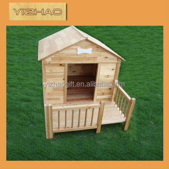 YZ-dh0001 Hot sale High Quality wooden dog house with run