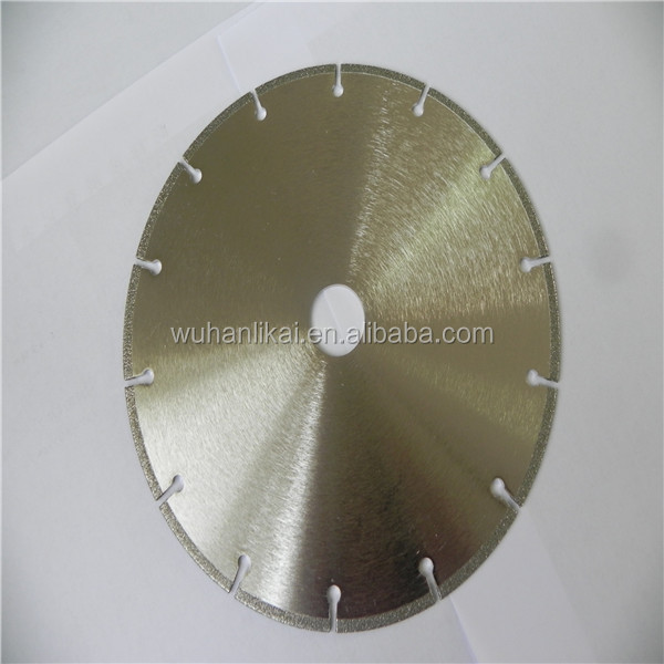 "4.5"" sharp high quality electroplated diamomd saw blade for marble"