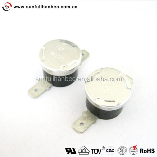 250V 10A 70 Celsius N.O N.C Temperature Control Switch Thermostat KSD301