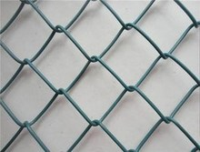 High Quality Fence Wire Netting , Plastic chain Link Fence Price from Anping Factory
