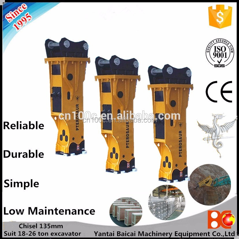 Logo Print construction machinery hydraulic bead breaker