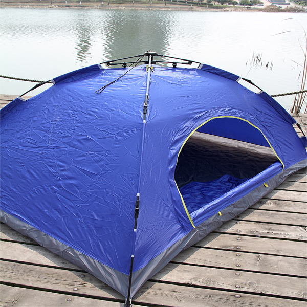 Easy Setting-up Tent Waterproof Outdoor Double-Layer Portable Camping Automatic Tent