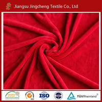 2015 hot sale 150D/288F 100% polyester with high quality coral fleece fabric .