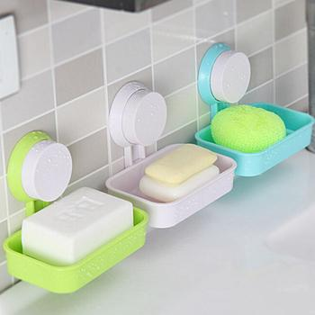 1Pc Colorful Soap Box Plate Case Hiking Holder Useful Soap Box Container Bath Products