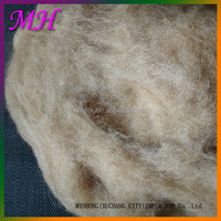 China Factory Price Natural Brown Colors 100% Camel Hair