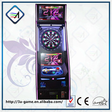 Children and adults coin operated arcade dart game for sale