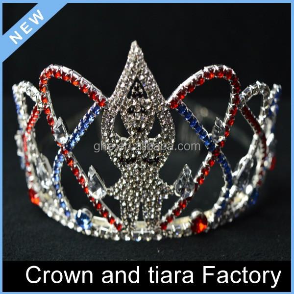 Halloween happy new year queen tiara crowns for kids
