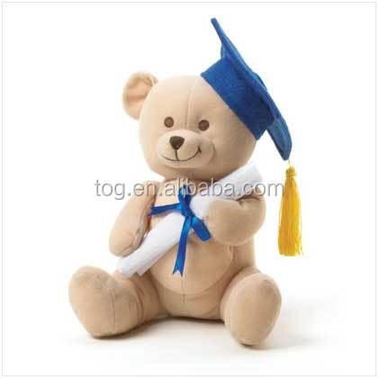 TOG Personalized Stuffed Animal Customize Plush Toy Graduation Gift Teddy Bear