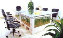 square Office table aquarium