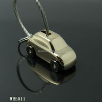 2014 custom high quality keychain manufacturer / metal car shape keychain keyring factory
