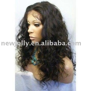 100% remy human hair lace front wig, high density, quick delivery