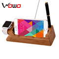 2017 Newest Bamboo Wooden Divide wire Charging station