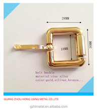 small metal pin belt roller buckle for bag and luggage