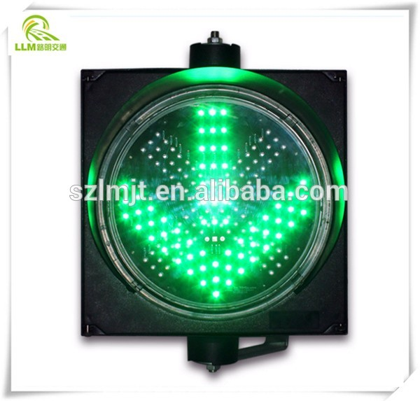 Road safety 200mm led traffic light parts red yellow green colors