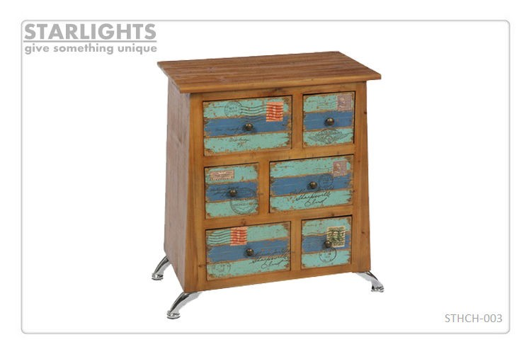 fashionable best sale shabby chic handmade wood cabinet