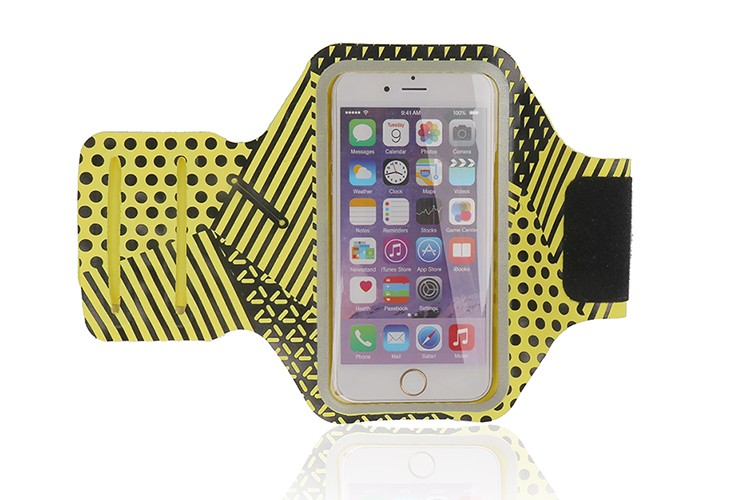 HAISSKY Fashion design Lycra Armband case ,Cycling Gym sport armband for iphone 7 / 7 plus and for iphone 6/6 plus