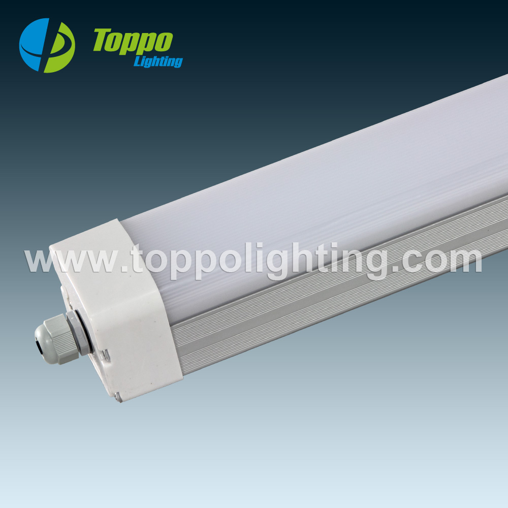 IP65 AC200-240V 3 hours integrated emergency 60cm/120cm/150cm Tri-Proof LED