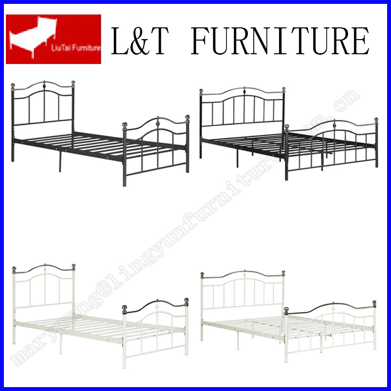Fashion design all iron tube metal bed