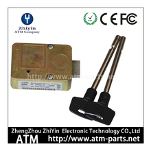 009-0008257 NCR ATM Parts Safety Box Lock Combination Vault Metal Key and Lock
