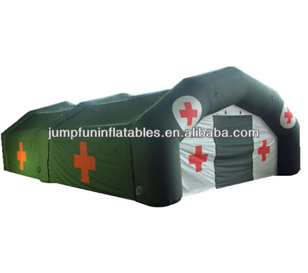 disaster relief inflatable tent/emergency inflatable medical tent